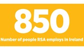 RSA employs 850 people in Ireland