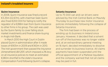 Ireland's troubled insurers