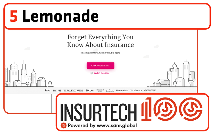 Insurtech top 10 No 5