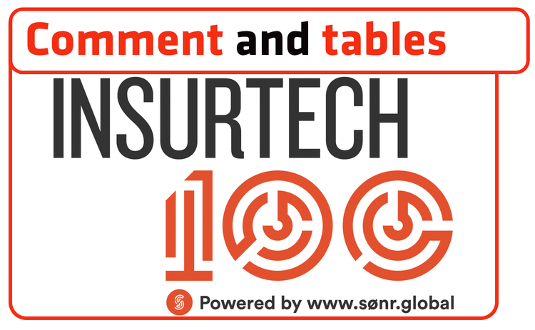 insurtech comment and tables