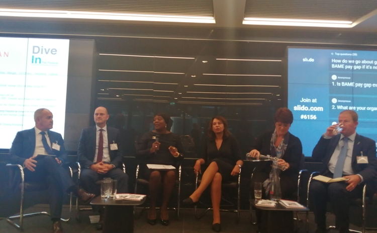Dive In BAME pay gap panel