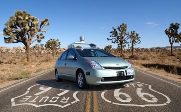 Driverless car in the USA