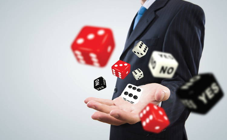 Taking a risk with dice