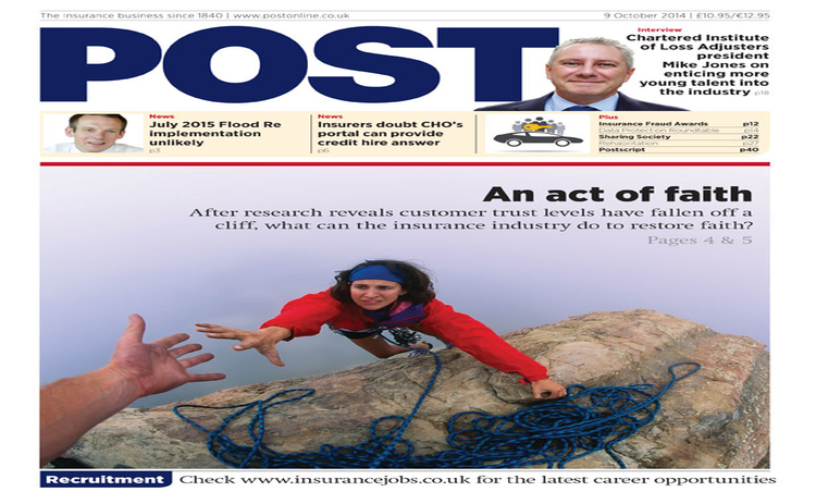 The front cover of the 9 October issue of Post magazine