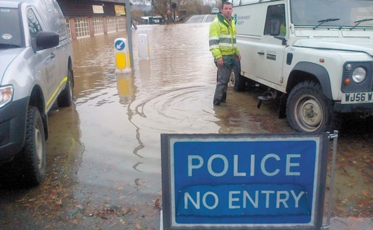 Flooding by Environment Agency