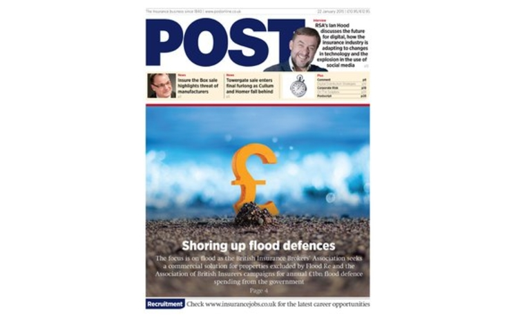 The front cover of the 22 January issue of Post magazine