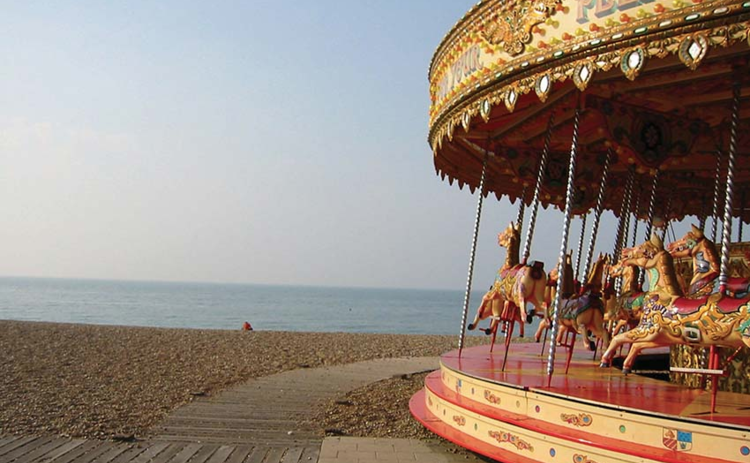 Carousel on Brighton beach