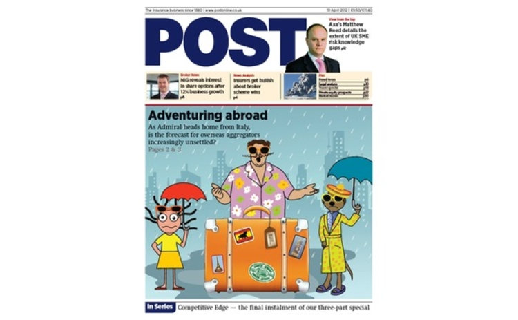 Post cover 19 April 2012