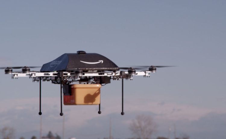 Amazon's Prime Air done in flight