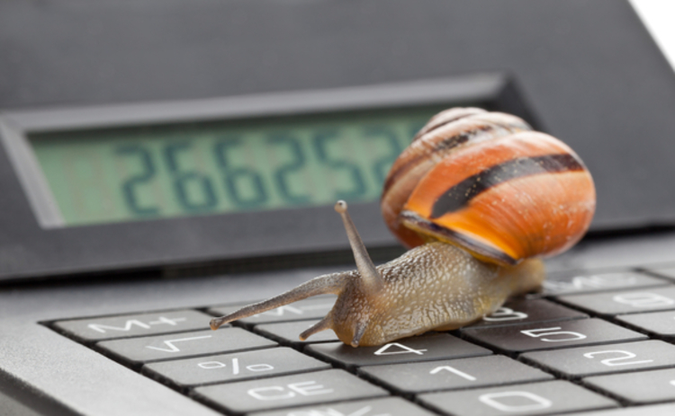 snail-calculator-slow-business
