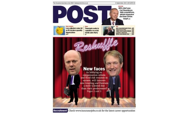 Post cover 6 September 2012