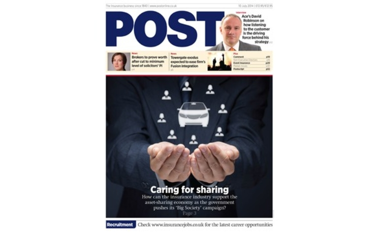 The front cover of the 10 July Post magazine