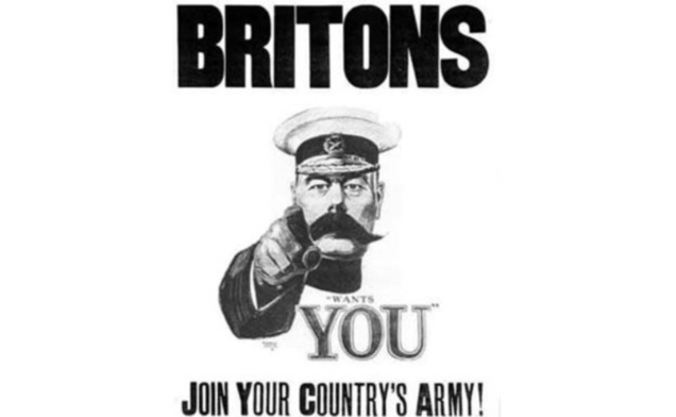 Britons need YOU - join your country's army