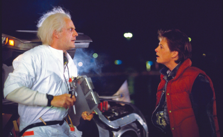 Scene from Back to the Future II