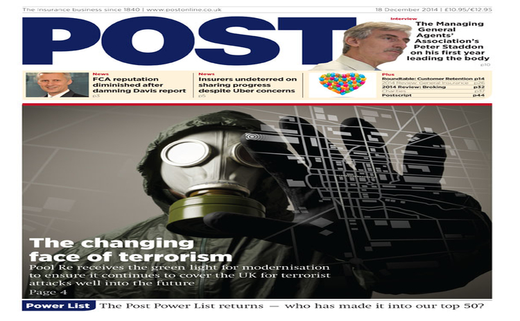 The front cover of the 18 December issue of Post magazine