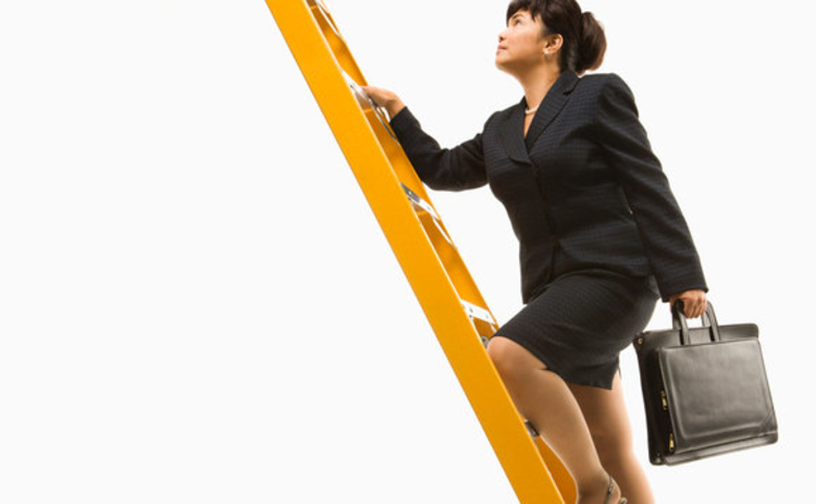 woman-career-ladder