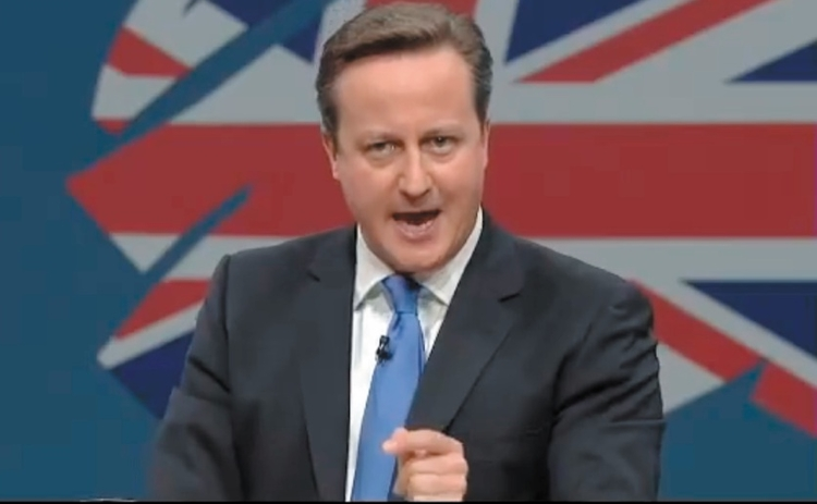 David Cameron at Conservative Party Conference 2013