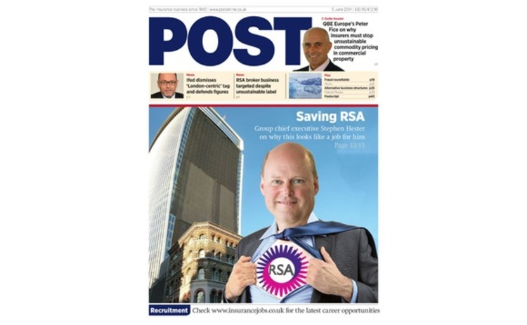 The front cover of the 5 June Post magazine