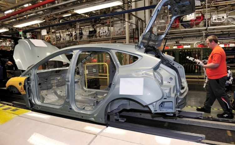 Ford Focus Electric in production