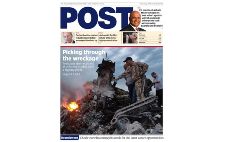 The front cover of the 31 July Post magazine
