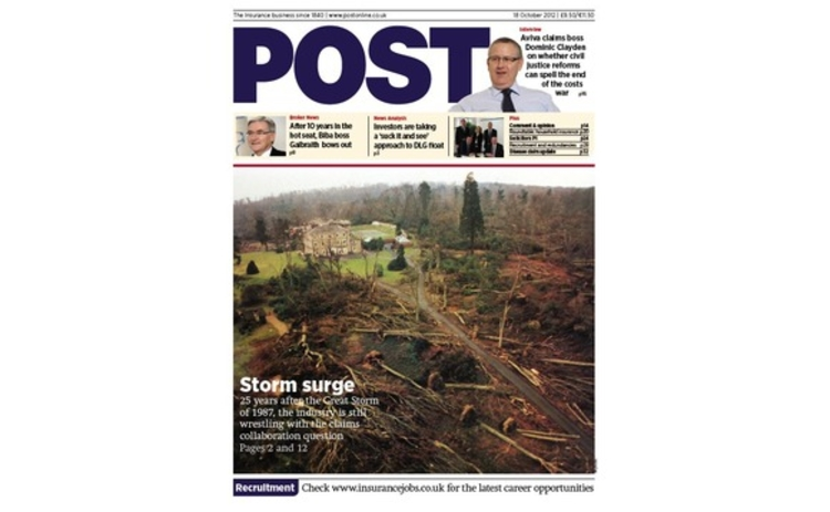 Post cover 18 October 2012