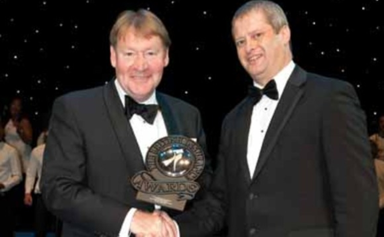 Sandy Scott of the CII picks up BIA 2011 prize