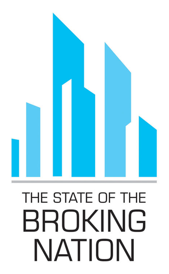 The state of the broking nation logo